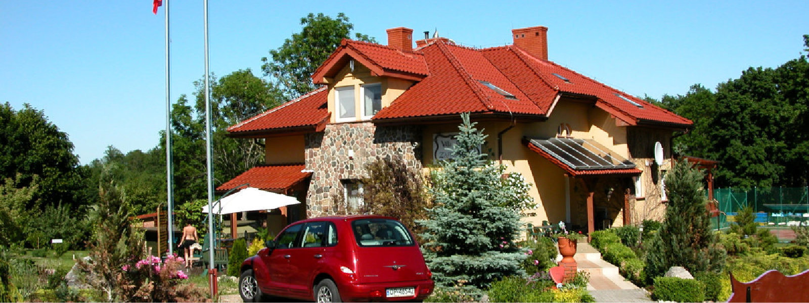 Noclegi na Mazurach, pokoje gościnne nad jeziorem Mamry,Villa Przystań